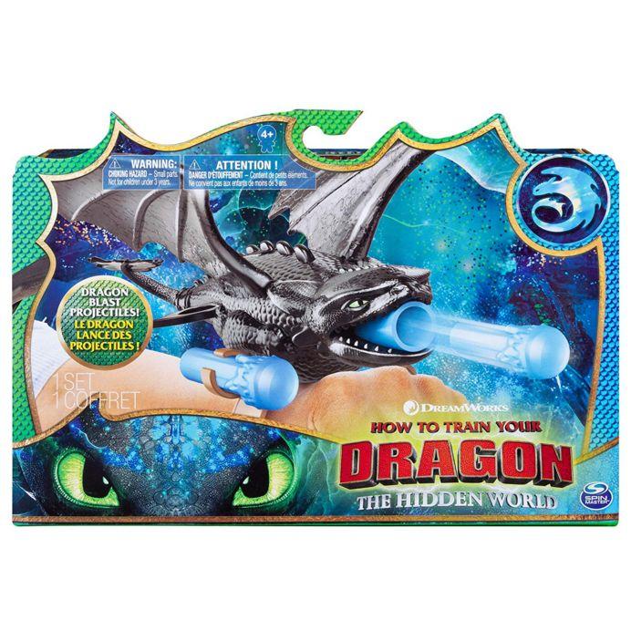 Dragons  Бластер - браслет Ночная фурия Как приручить дракона 3 66627/2
