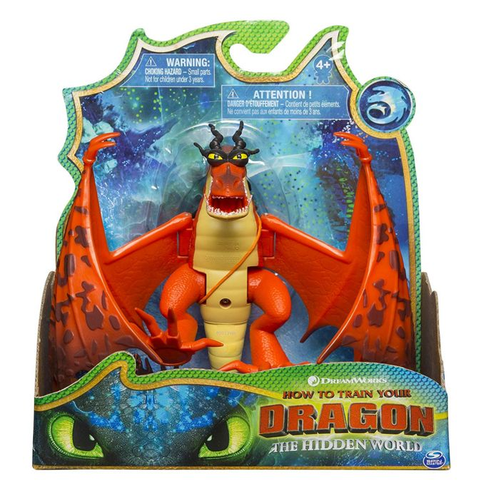 Dragons Hookfang Как приручить дракона 3 Дракон Кривоклык с подвижными крыльями 66620