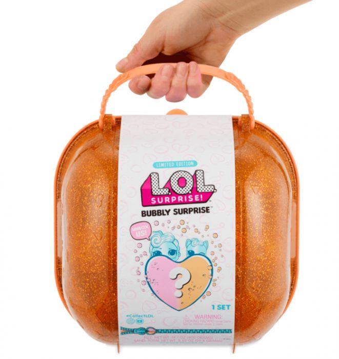 Чемодан ЛОЛ LOL Surprise Bubbly шипучий сюрприз оранжевый 556268/558361/2