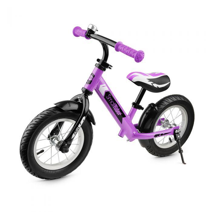 Беговел Small Rider Roadster 2 AIR алюминий, надувные колеса фиолетовый 1539256