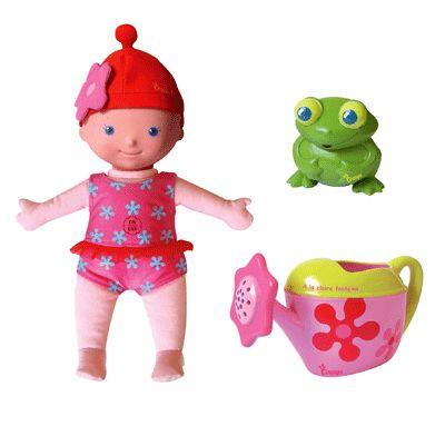 Quaps 5039 Кукла Светочка для игры в ванне