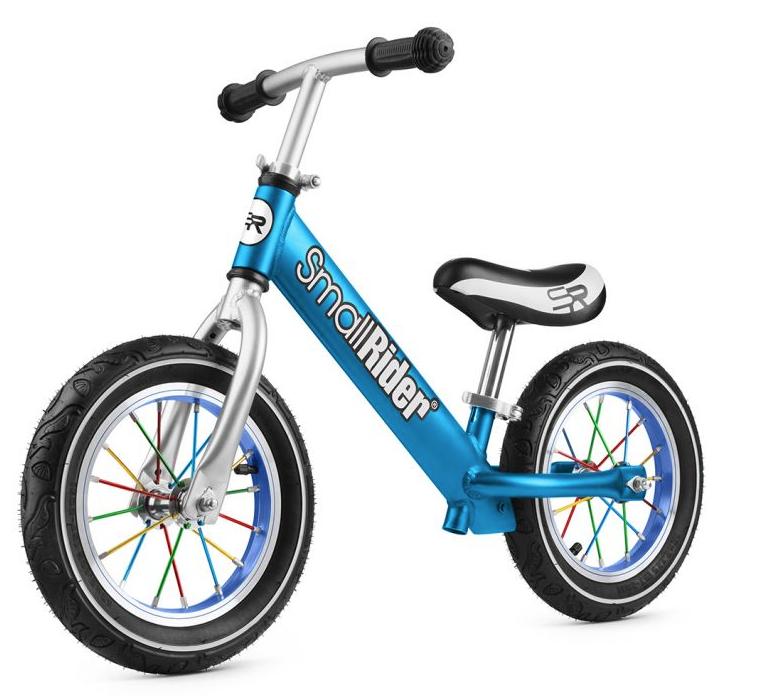 Беговел Small Rider Foot Racer 2 AIR алюминий, надувные колеса синий 1542841