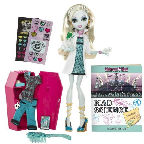 "Кукла ""Школа монстров"" Classroom Playset And Lagoona Blue Monster High W2556/W2560"