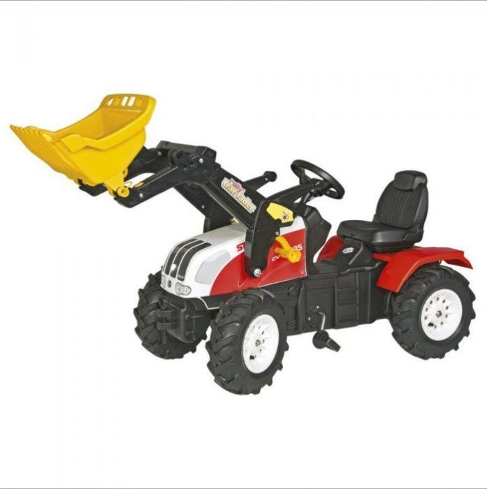 Rolly Toys Трактор педальный надувные колеса Steyr CVT 6240 m.Luftbereifun  046331 от 4 лет