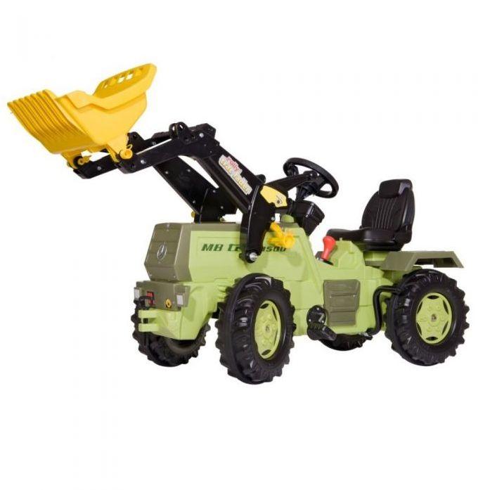 Rolly Toys Трактор педальный с ковшом две скорости и ручной тормоз Farmtrac MB 1500  046690 от 4 лет