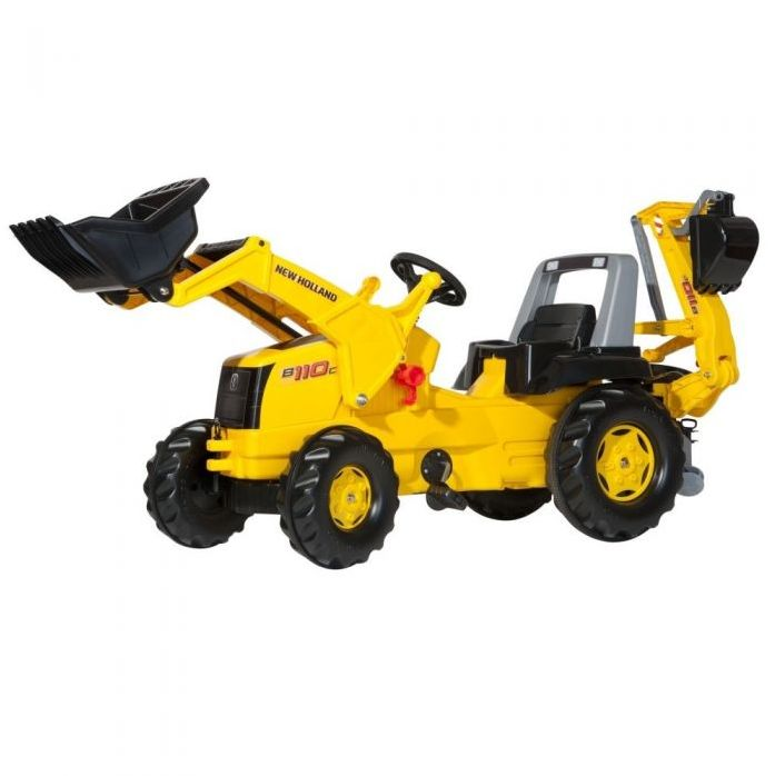 Rolly Toys Трактор педальный rollyJunior New Holland Constr 813117 от 4-х лет