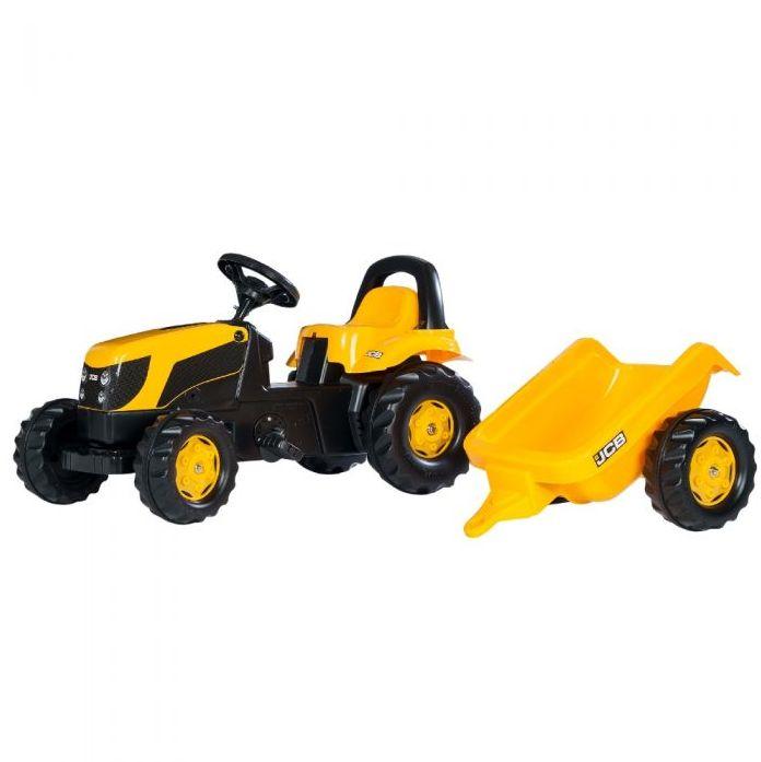 Rolly Toys Трактор педальный rollyKid Trailer 012619 от 2-х лет
