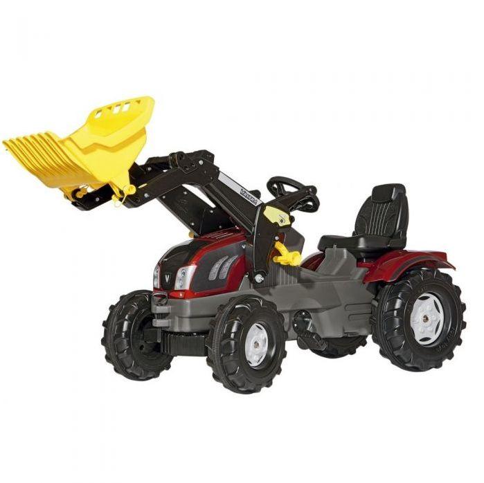 Трактор педальный с ковшом rolly Farmtrac Valtra T163  611157 от 4-х лет
