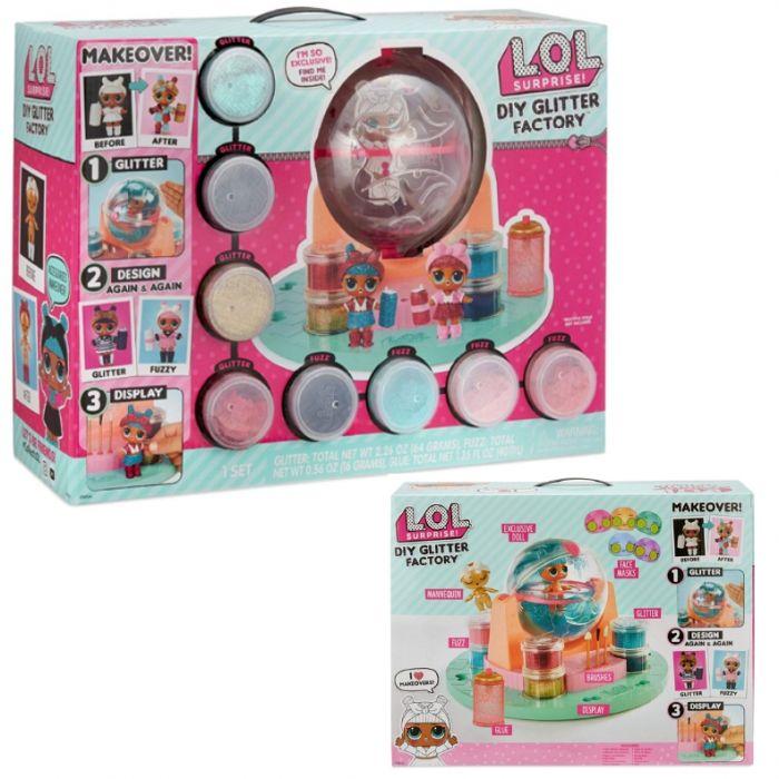 Lol surprise Glitter Factory Фабрика блесток с эксклюзивной куклой