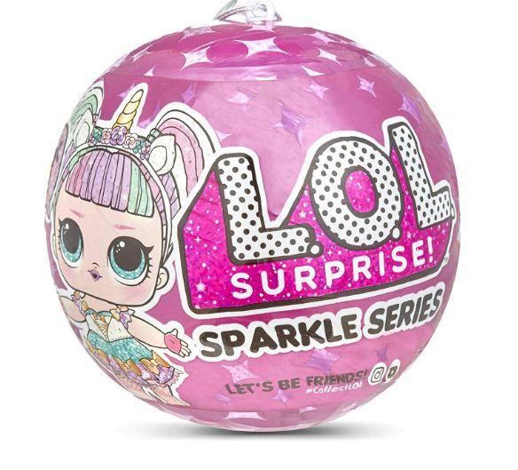 Куклы Лол Сверкающий сюрприз Sparkle Series Lol surprise 559658