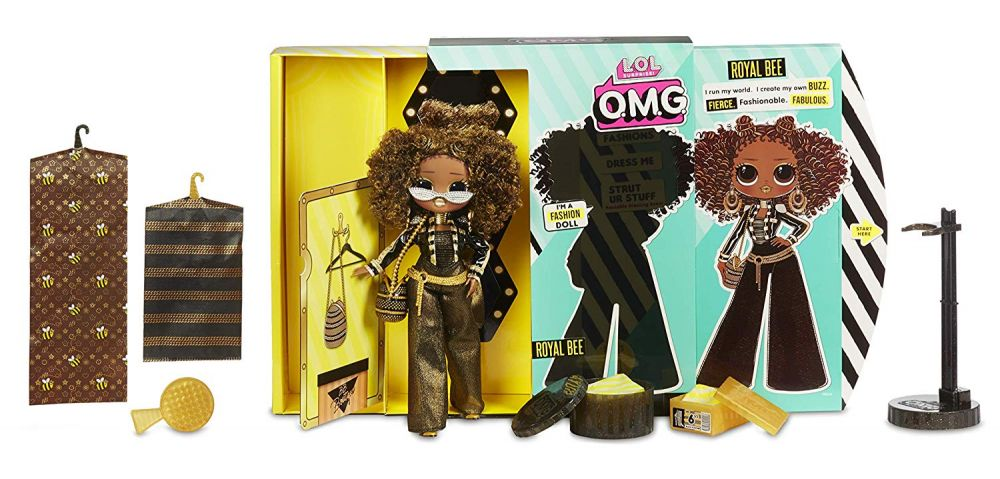 Queen Bee BB Boutique Spaces Furniture LOL Surprise Royal Bee OMG Fashion Doll