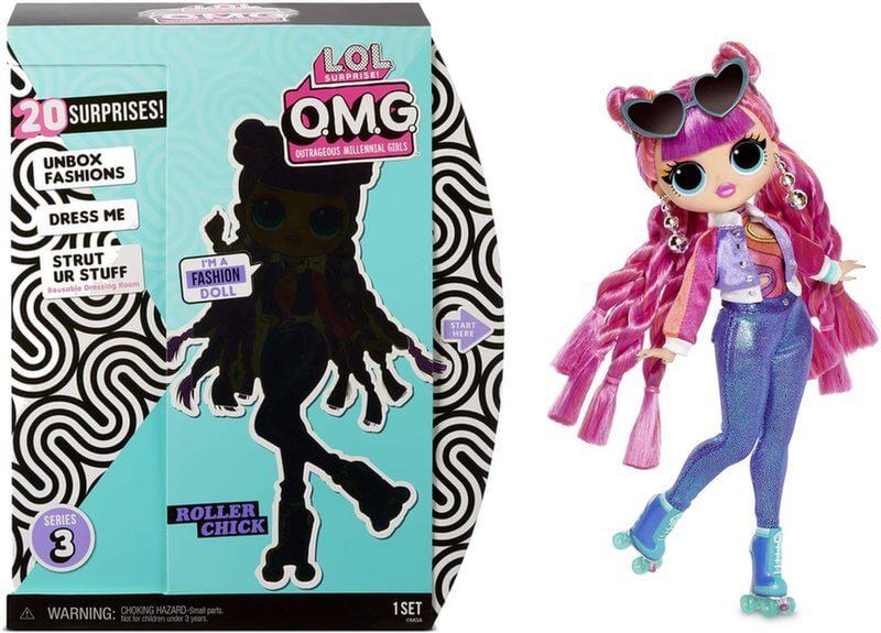 Кукла LOL Surprise OMG Roller Chick 3 серия 567196