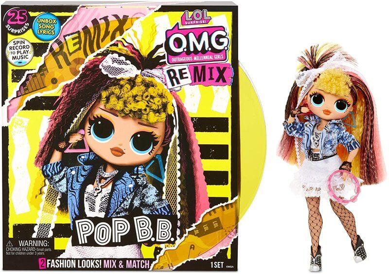 Кукла LOL OMG Remix Pop BB с музыкой 25 сюрпризов 567257