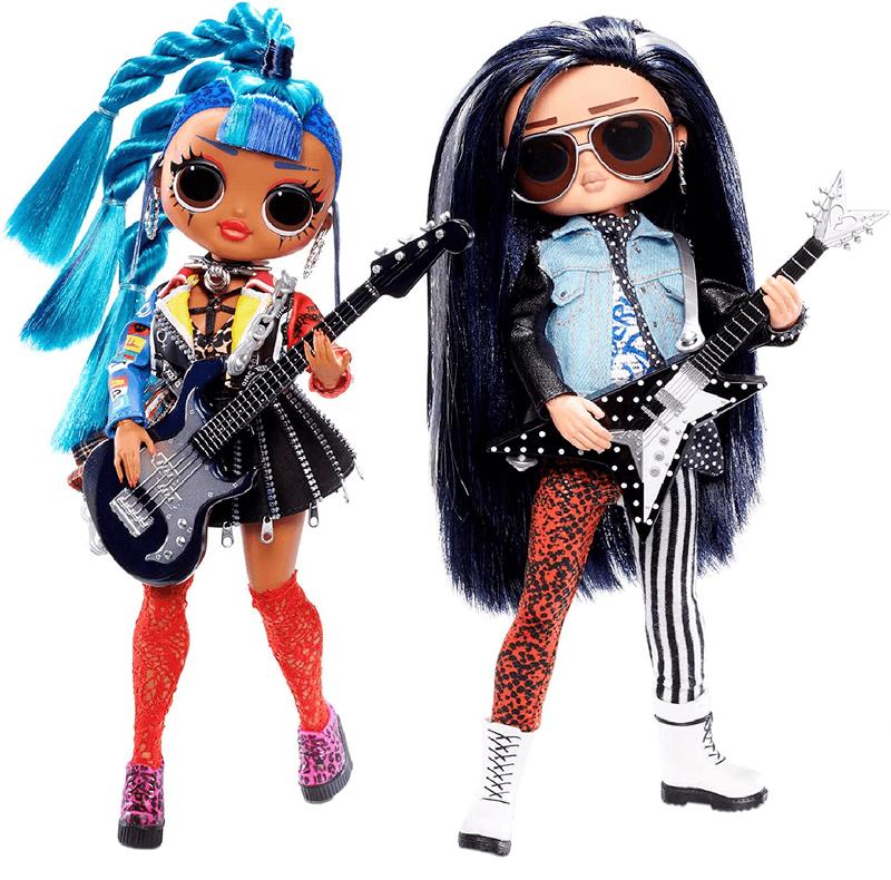 Набор кукол LOL Сюрприз OMG Remix Rocker Boi и Punk Grrrl 567288
