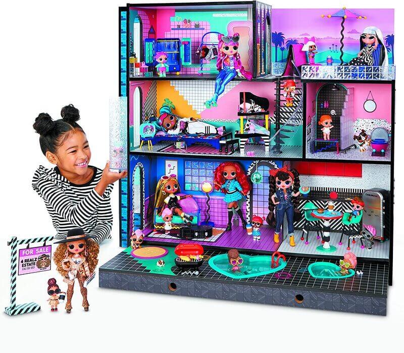 Дом Лол 3-х этажный LOL Surprise OMG House 85+ сюрпризов (Новый 2020!) 570202