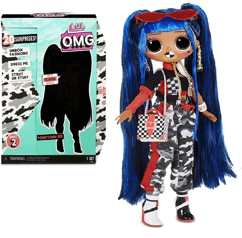 Кукла LOL Surprise OMG Downtown B.B. Fashion 570295