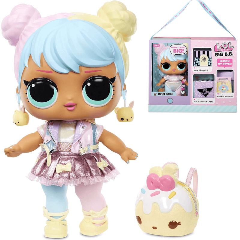 Большая Кукла LOL Surprise Big Baby Bon Bon 573050