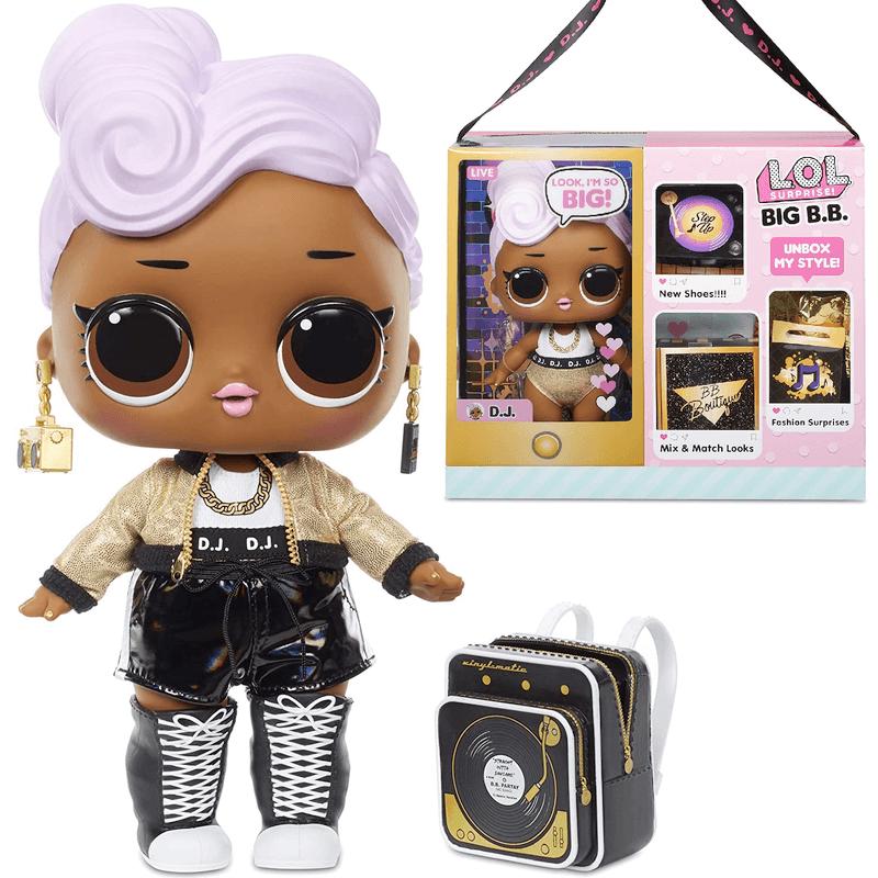 Большая Кукла LOL Surprise Big Baby DJ 573067