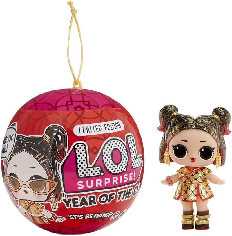 Кукла LOL Surprise Year of the Ox Golden BB 574750