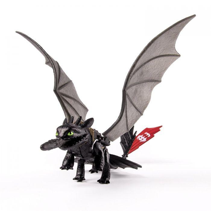 Игрушки Драконы 2 Боевые драконы Беззубик яркое свечение 66574 /11