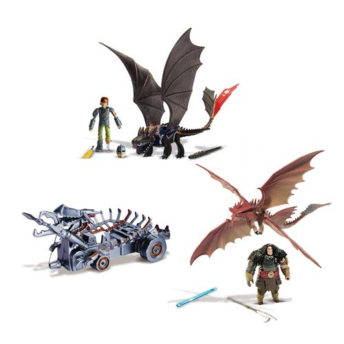 Драконы набор Битва на Драконовой горе игрушки Как приручить дракона Dragons 66587