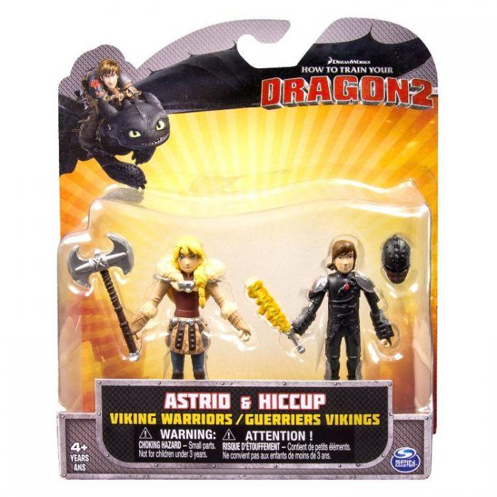Игрушки Драконы 2 Фигурки Викингов Viking Warriors Action Figures 66576/3