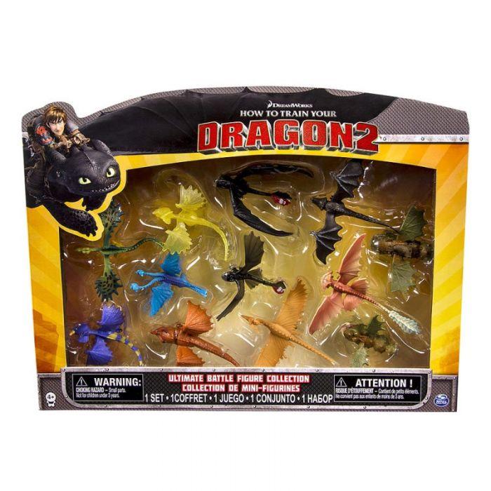 Игрушки Драконы Невероятная коллекция драконов 12 шт. Dragons 65323