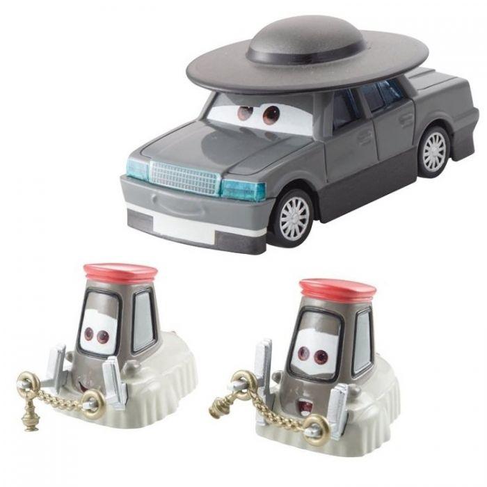 Тачки Машинки Отец Бурк, Кардиналы Антонио и Анджело Cars Y0506/BDW80