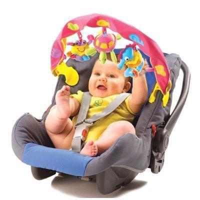 Детская дуга музыкальная с 3 игрушками 381