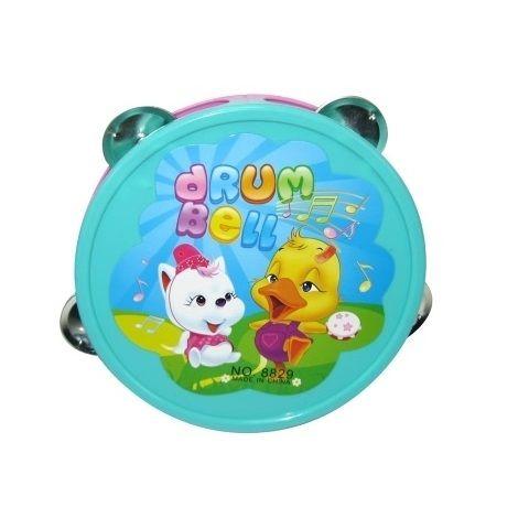 Бубен детский 15 см D-00018 (8829-B)
