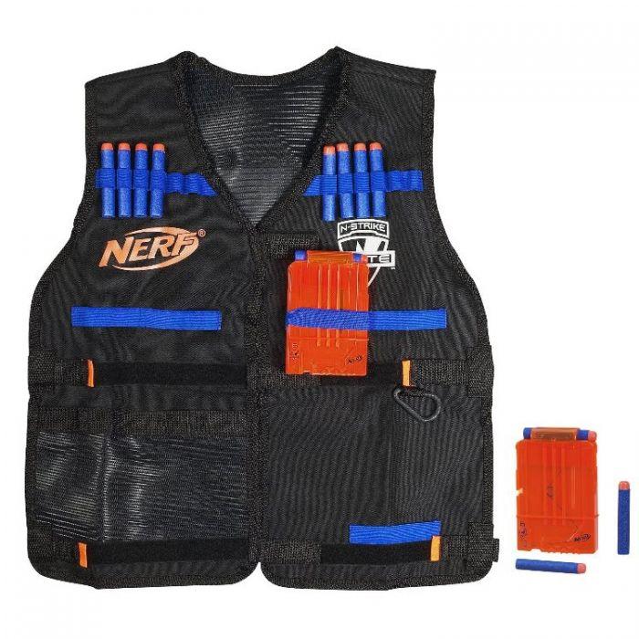 Nerf Жилет Агента Нерф Элит со стрелами и обоймами A0250