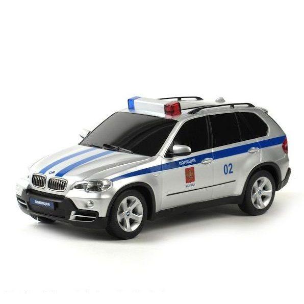 Машина радиоуправляемая модель BMW X5 Полиция 1:14 23200-4