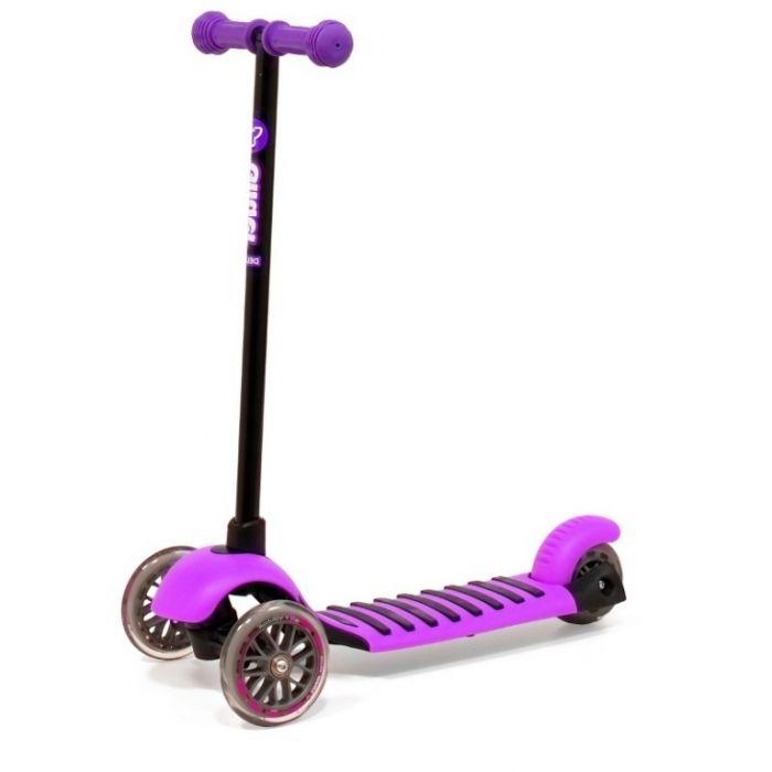 Самокат трехколесный Y Bike Glider Mini Delux фиолетовый
