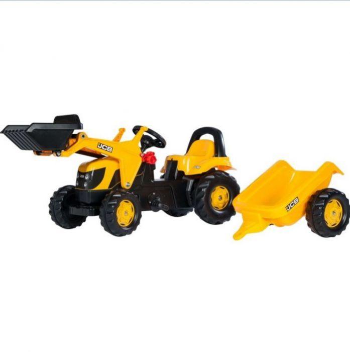 Rolly Toys Трактор педальный rollyKid Trailer 023837 от 2-х лет