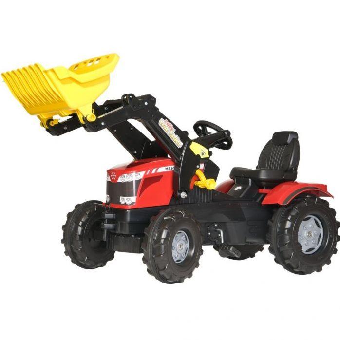 Rolly Toys Трактор педальный с ковшом rollyFarmtrac MF 8650 611133 от 3-х лет