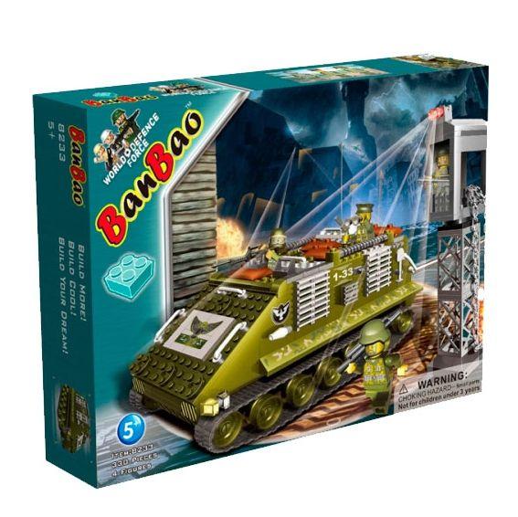 Banbao конструктор военная техника БТР 330 деталей 8233