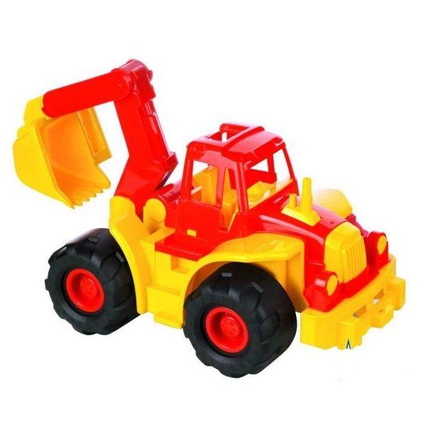Трактор Богатырь с ковшом  Нордпласт Н-098