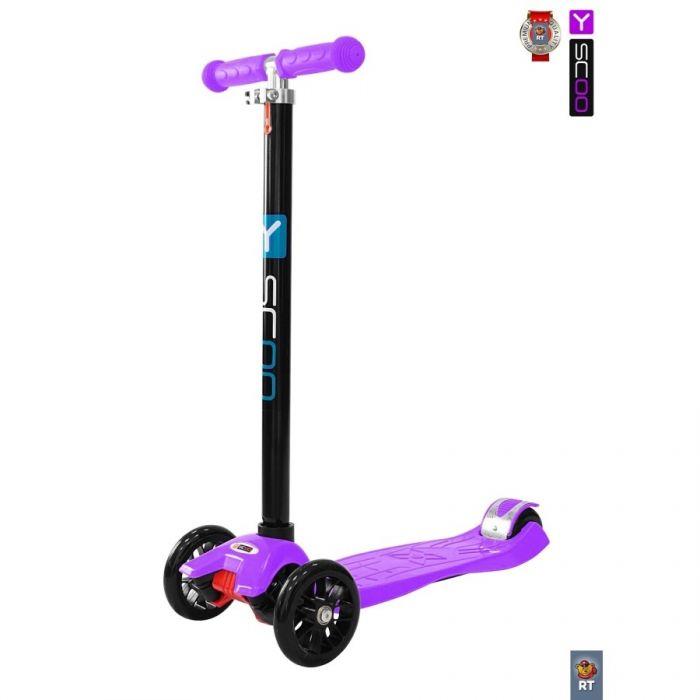 Трехколесный самокат Y-Scoo RT Maxi Simple A20 violet