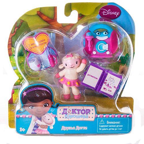 Доктор Плюшева игрушки Друзья Дотти в ассортименте 90810