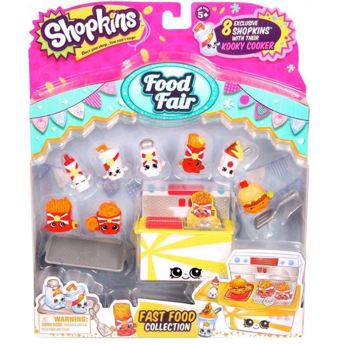 Игровой набор Шопкинс Вкусная ярмарка Фаст Фуд Shopkins 56092