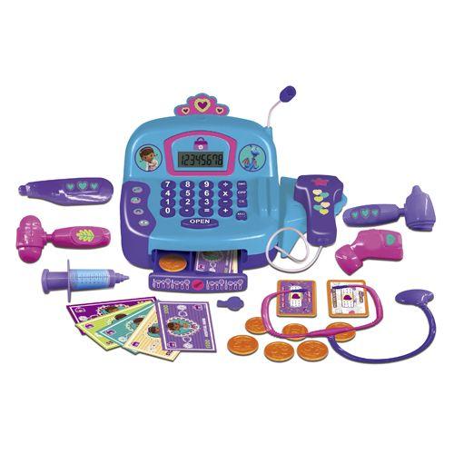 Доктор Плюшева Кассовый аппарат (свет, звук) 1232