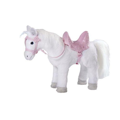 Интерактивная игрушка Лошадка белая Zapf Creation Baby born 820-346