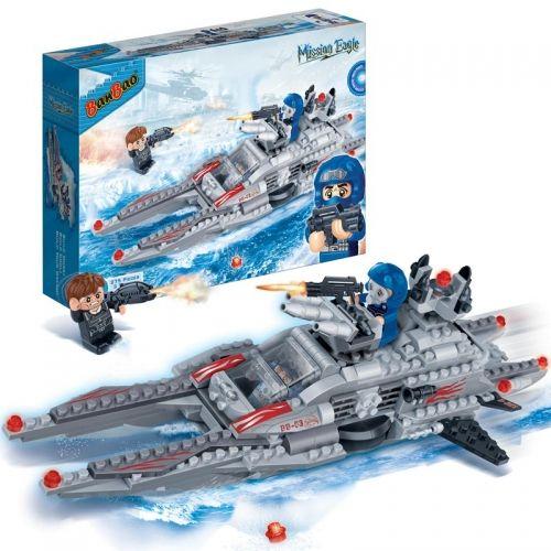 Конструктор Banbao Подводная лодка 275 деталей 6211