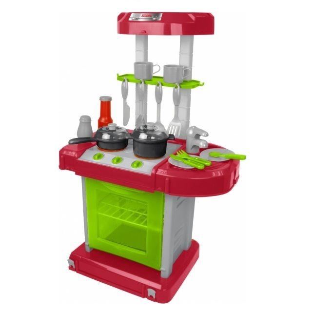 Игровая кухня-мини портативная Smart, свет, звук, 15 предметов 1680703.00