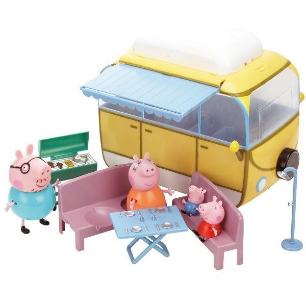 Свинка Пеппа Игровой набор Кемпинг Пеппы Peppa Pig 19070