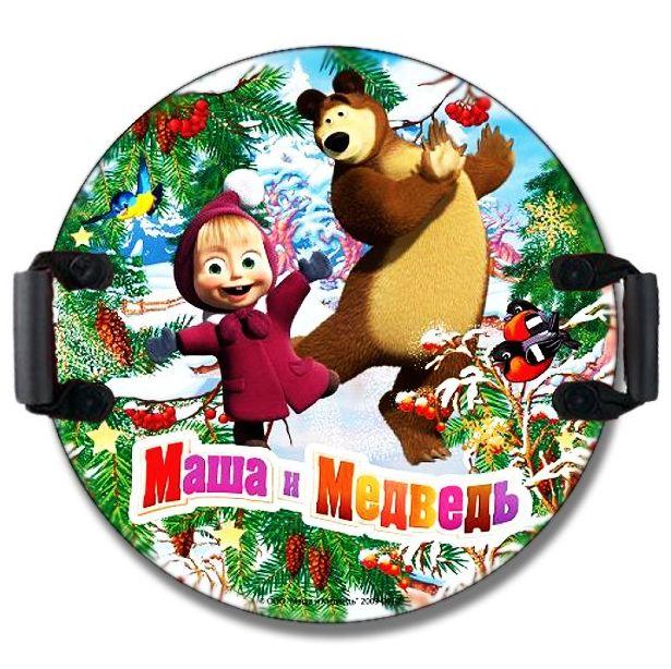 Санки ледянка Маша и медведь 53см