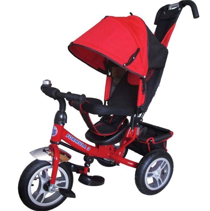 Велосипед трехколесный Формула 3 Formula-3 FA3R_красный