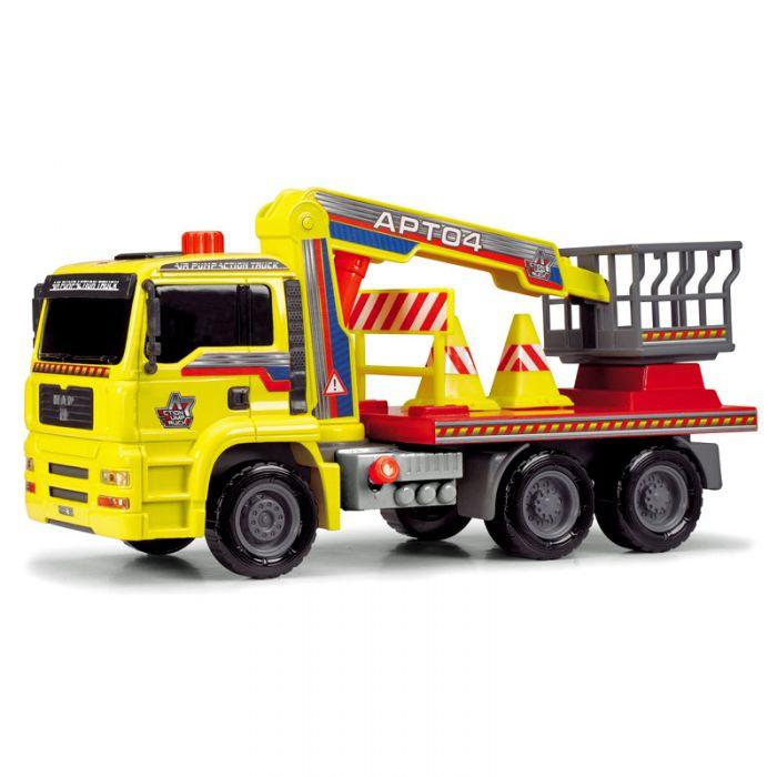 Dickie Грузовик с подъемным механизмом AirPump 3805002