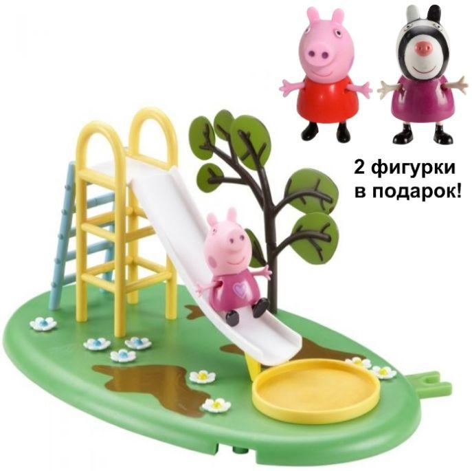 Набор Игровая площадка Горка Пеппы Peppa Pig 28774