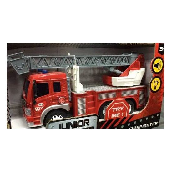 Инерционная пожарная машина Junior Trucker 33015
